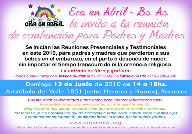 era en abril reunion new