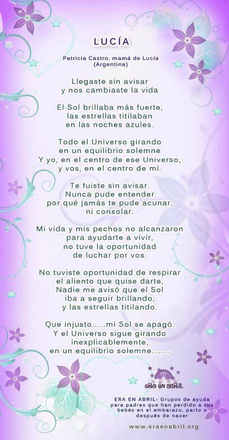 Poema a bebé por nacer - Imagui