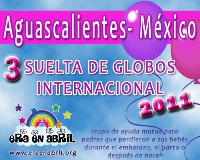 3era Suelta de Globos Internacional 2011 Aguasalientes-MXx
