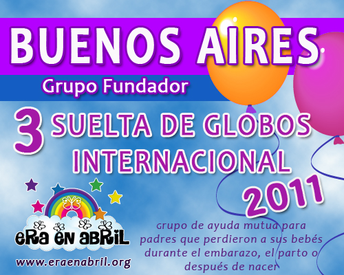 3era Suelta de Globos Internacional 2011 Buenos-Aires