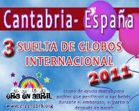 3era Suelta de Globos Internacional 2011 Cantabria-Espa%C3%B1a
