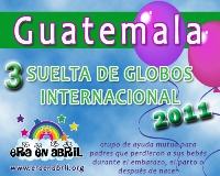3era Suelta de Globos Internacional 2011 Guatemala