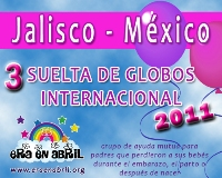 3era Suelta de Globos Internacional 2011 Jalisco-MXx