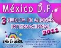 3era Suelta de Globos Internacional 2011 MEXICO-DF