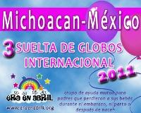 3era Suelta de Globos Internacional 2011 Michoacan-MX