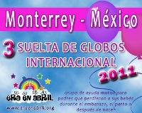 3era Suelta de Globos Internacional 2011 Monterrey-MXX