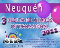 3era Suelta de Globos Internacional 2011 NEUQUEN