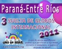3era Suelta de Globos Internacional 2011 Parana-Entre-Rios
