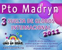 3era Suelta de Globos Internacional 2011 Puerto-Madryn-Chubut