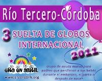 3era Suelta de Globos Internacional 2011 Rio-Tercero-Cordoba