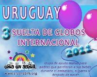 3era Suelta de Globos Internacional 2011 URUGUAY
