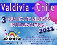 3era Suelta de Globos Internacional 2011 Valdivia-chile