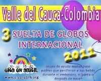 3era Suelta de Globos Internacional 2011 Valle-del-CaucaColombia