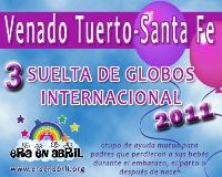 3era Suelta de Globos Internacional 2011 Venado-Tuerto-Santa-Fe