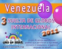 3era Suelta de Globos Internacional 2011 Venezuela