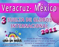 3era Suelta de Globos Internacional 2011 Veracruz-MX