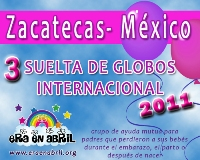 3era Suelta de Globos Internacional 2011 Zacatecas-MX