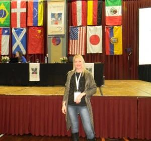 Presidenta de la Fundación Era en Abril en la XI Conferencia
