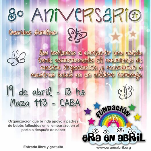 Invitación 8vo Aniversario
