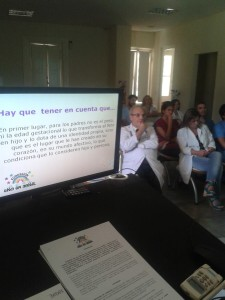 Charla en Htal Italiano de San Justo