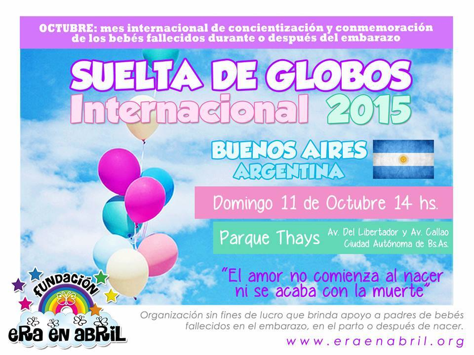 Suelta de Globos Bs As